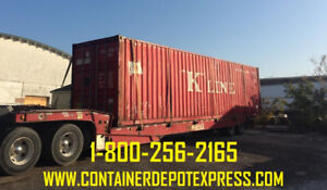 Used Steel Shipping Containers for Rent!