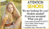 High School Seniors wanted!! Awesome deal for you!!
