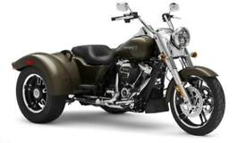 NEW 2021 Harley-Davidson FLRT Freewheeler Trik in River Rock Grey