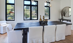 Show Home Furniture: Restoration Hardware 8 Dining Chairs