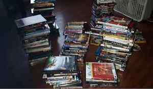 Tons of DVD`s, sale or trade...