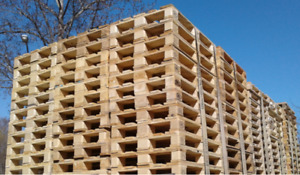 Refurbished Pallets, New Custom Pallets & Shipping Crates