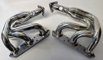 Porsche Boxster 97-04 986 Exhaust Headers Manifolds Stainless Steel w/ Gaskets