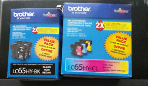 Brother High Yield Ink Cartridges LC65HY **REDUCED**
