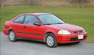 SOLD PPU - 1998 Honda Civic DX Coupe (2 door)