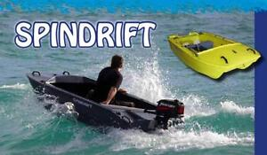 3m 10 foot Spindrift Dinghy - Fold Down Wheels & Rod Holders Sydney City Inner Sydney Preview