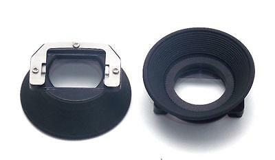 2 Olympus Eye Cups for OM-1 OM-2 OM-4 NEW Eyecup in Plastic