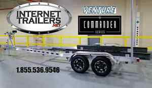 2017 ALUMINIUM BOAT TRAILER+TORSION+COMMANDER SERIES !! Kingston Kingston Area image 1