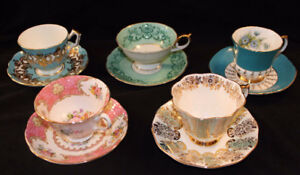 RENTAL OF TEA CUPS AND SAUCERS - SERVING THE DURHAM REGION
