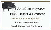 Piano Tuning & Restoring Services