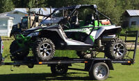 2013 Wildcat X 1000 and Trailer