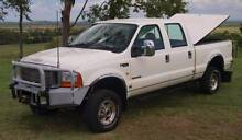 2005 Ford F250 XLT Super Duty 4x4 Dual Cab Ute The Caves Rockhampton Surrounds Preview