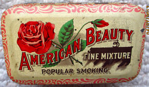COLLECTIBLE TOBACCO TINS; CANUCK, AMERICAN BEAUTY