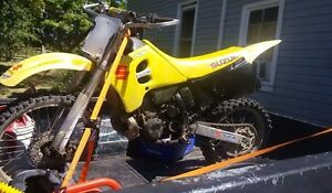 1991 rm 250 has ownership nd lots of upgrades