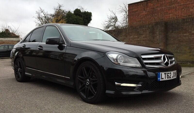 2013 62 Mercedes Benz C250 Amg Sport Plus Black Automatic In