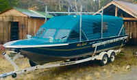 For sale 26' twin jet boat