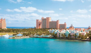8 nights in Atlantis, Paradise Island , Bahamas
