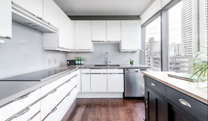 Large Modern Executive 2 bdrm in Coal Harbour - 1280sq ft