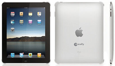 MACALLY METRO-C CLEAR HARD CASE PROTECTOR COVER FOR APPLE iPAD 1st GENERATION 1 for sale  Shipping to India