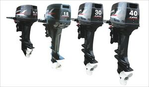 30 or 40HP Four Stroke Outboard Motor