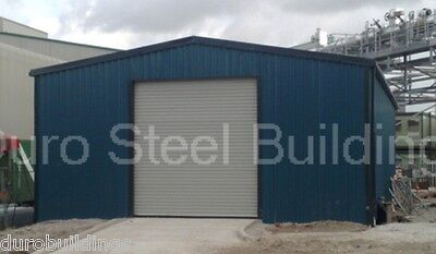 Durobeam Steel 30x45x14 Metal Garage I-beam Building Man Cave Workshop Direct