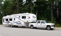 2 5th wheel RV's