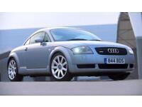 2004 04 AUDI TT 1.8 T 180 BHP QUATTRO ONLY 86000 MILES AVUS SILVER FULL LEATHER