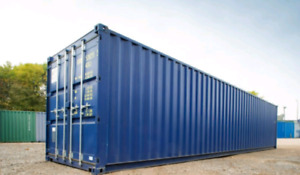 Shipping Container for Storage