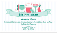 Need a professional cleaner?