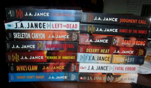 ISO J.A. JANCE BOOKS.  PLEASE
