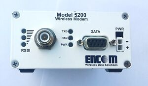 Encom Model 5200 Wireless Serial Modem 900 MHz Traffic Control Kitchener / Waterloo Kitchener Area image 1