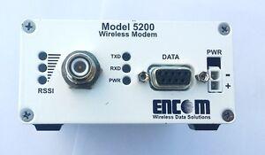 Encom Model 5200 Wireless Serial Modem 900 MHz Traffic Control Kitchener / Waterloo Kitchener Area image 1