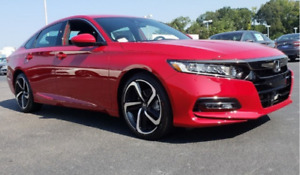 2018 HONDA ACCORD 2.0 TURBO SPORT LEASE TAKEOVER $200 BW