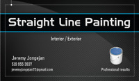 Straight Line Painting