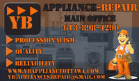 YB Appliance Repair Same Day Service! Open on Weekends!