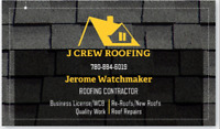 J CREW ROOFING ( Quality Work, Affordable Price)780-884-6019