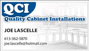 Professional custom cabinet installations