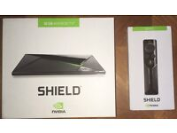 NVIDIA SHIELD ANDROID TV, PC Gaming, Streaming 4K Video & Remote 16GB New