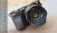 Wanted- Sony 35mm f1.8 oss e-mount lens