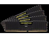 CORSAIR 16 GBS DDR 4 16 GBS