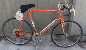 Peugeot Orange Vintage Road Bike 64cm GODERICH