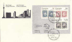 Day of Issue Canada post Office 1978 stamps