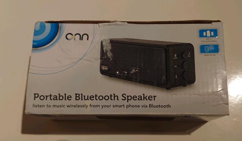 ONN Portable Bluetooth Speaker ( Wireless) | in Oadby, Leicestershire |  Gumtree