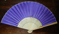 NEW: Bamboo Fans (Dark Purple) > 50 available *PRICE REDUCED*