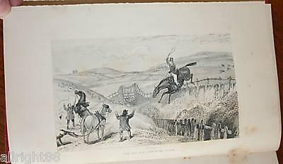 (1843 Hunting Reminiscences Hounds Nimrod Apperley Engravings Belvoir Oakley )