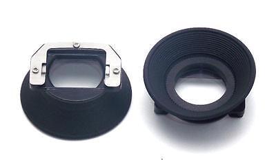 2 Minolta Camera Eye Cups Eyecup X-700 X-370 NEW in Plastic SRT 101, X-700, XG-M