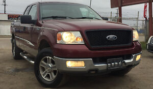 2005 FORD F-150 4x4 XLT = 193K - EXTANDED CAB - NICE TRUCK!!!