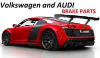 VOLKSWAGEN and AUDI BRAKE PARTS NEW ROTORS and PADS