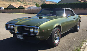 CONVERTIBLE 1968 FIREBIRD