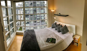Executive Suite Furnished 1 BR, Office, Solarium, Balcony